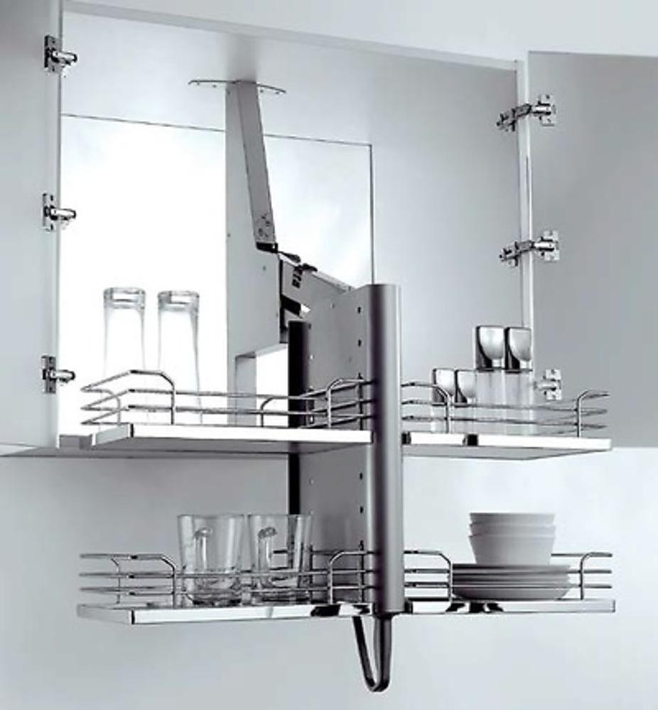 Extraible alto pegasus cocina y ba o interiorismo y for Herrajes para muebles de bano