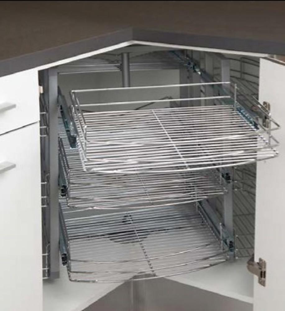 Rincon angular giratorio 360 cocina y ba o for Herrajes para muebles de bano