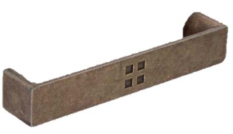 ASA MOD.CUADRUPLE CUERO 96 MM ZAMAK 105x18 MM