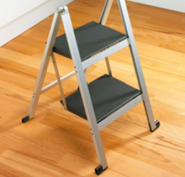 escalera stepolo para cocinas anodizado no aluminio stepolo