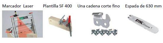 SET DE PLANTILLA LIGNA TOOLS CORTE MADERA ESTRUCTURAL SET PLANTILLA PLANTILLA(NO INCLUYE MOTOSIERRA) SF40