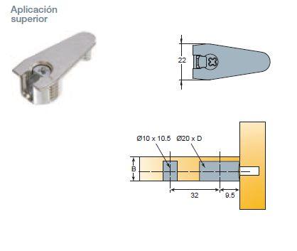 EXCENTRICA S6 D:20 QUICKFIT-EXPANDO SIST.32 NIQUEL 18-19 MM 14 MM 1000 SUPERIOR PLASTICO GRIS 15-16 MM 12,5 MM 1000 SUPERIOR NIQUEL 15-16 MM 12,5 MM 1000 SUPERIOR PLASTICO GRIS 18-19 MM 14 MM 1000 SUPERIOR
