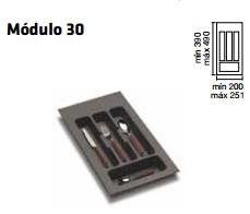 CUBERTERO ALBERTI mín 200 / máx 251 300 MM GRIS mín 390 / máx 490 PLASTICO