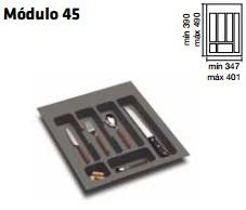 CUBERTERO ALBERTI mín 347 / máx 401 450 MM GRIS mín 390 / máx 490 PLASTICO