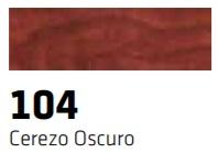 CERAS BLANDAS 104 R-104 CEREZO OSCURO 10 UNIDADES