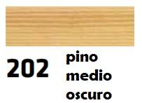 CERAS BLANDAS 202 R-202 PINO MEDIO OSCURO 10 UNIDADES