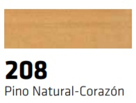 CERAS BLANDAS 208 R-208 PINO NATURAL CORAZON 10 UNIDADES