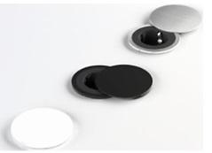 TOMA DE ENCHUFE Y USB PIX COLOURS con aros intercambiables tapa giratoria blanco mate tapa giratoria negro mate tapa giratoria plastico efecto inox