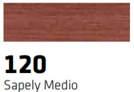 CERAS BLANDAS 120 R-120 SAPELY MEDIO 1 UNIDAD