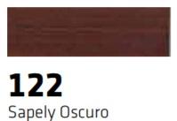 CERAS BLANDAS 122 R-122 SAPELY OSCURO 1 UNIDAD