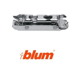 BLUM BASES RECTAS LONGITUDINAL PARA BISAGRAS CLIP TOP REGULACION FRONTAL EXCENTRICA