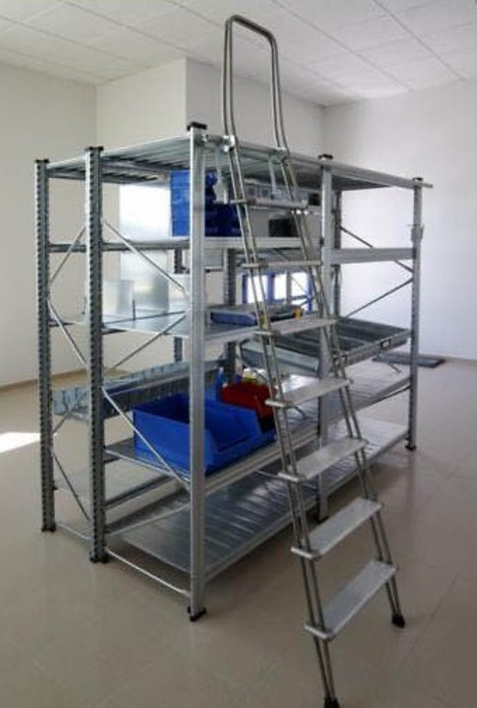 Escalera aluminio deslizante adosada con ganchos - Escaleras aluminio precios ...