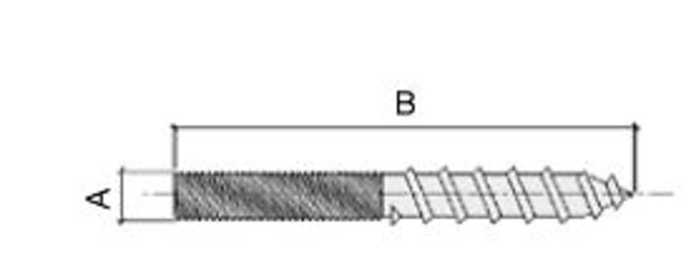 Esp rrago doble rosca ensambles ensambles sistemas 41 - Tornillo doble rosca ...