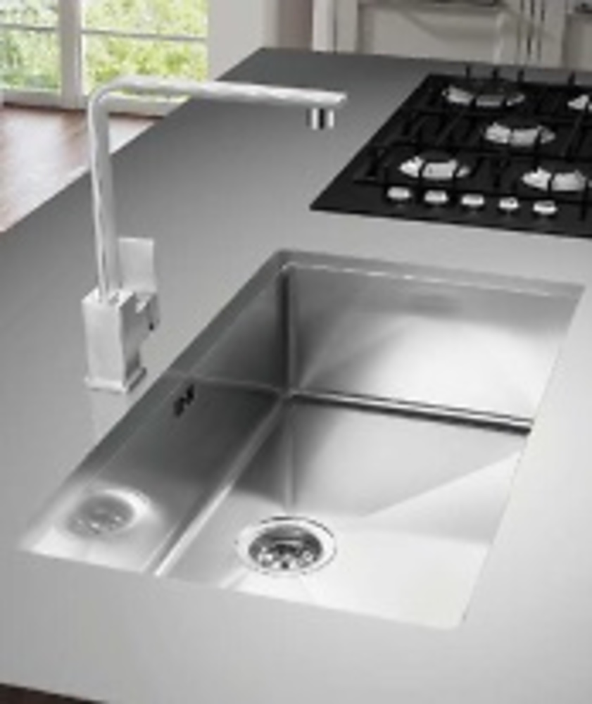 Fregadero acero inox janso bajo encimera cocina y ba o for Muebles de cocina para montar