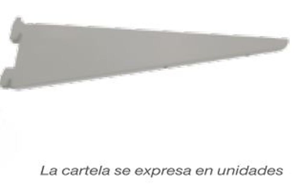 GUIA CREMALLERA DOBLE Y CARTELA