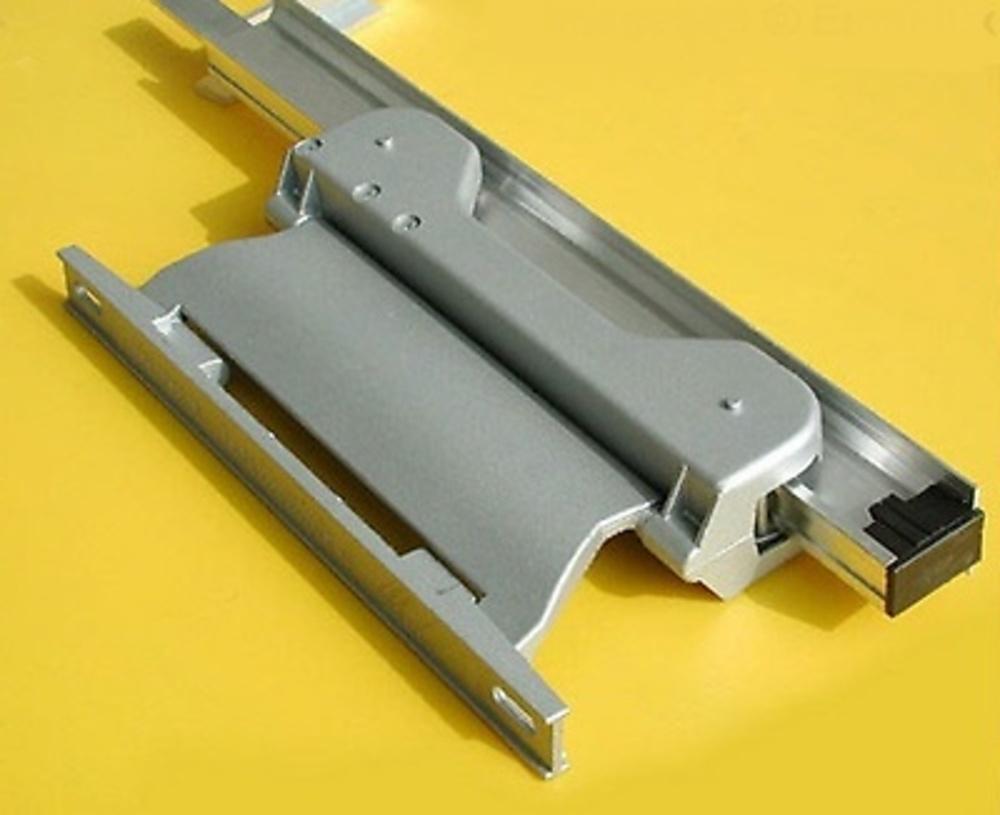 Guia para escalera plegable de aluminio deslizante adosada - Guia de aluminio ...