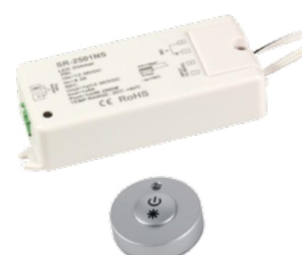 Interruptor regulador remoto para led iluminacion for Regulador para led