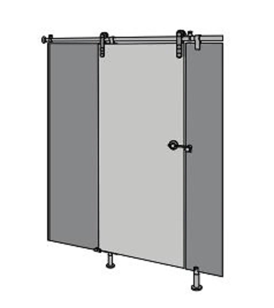Kit herrajes para puertas correderas cocina y ba o for Herrajes para puertas
