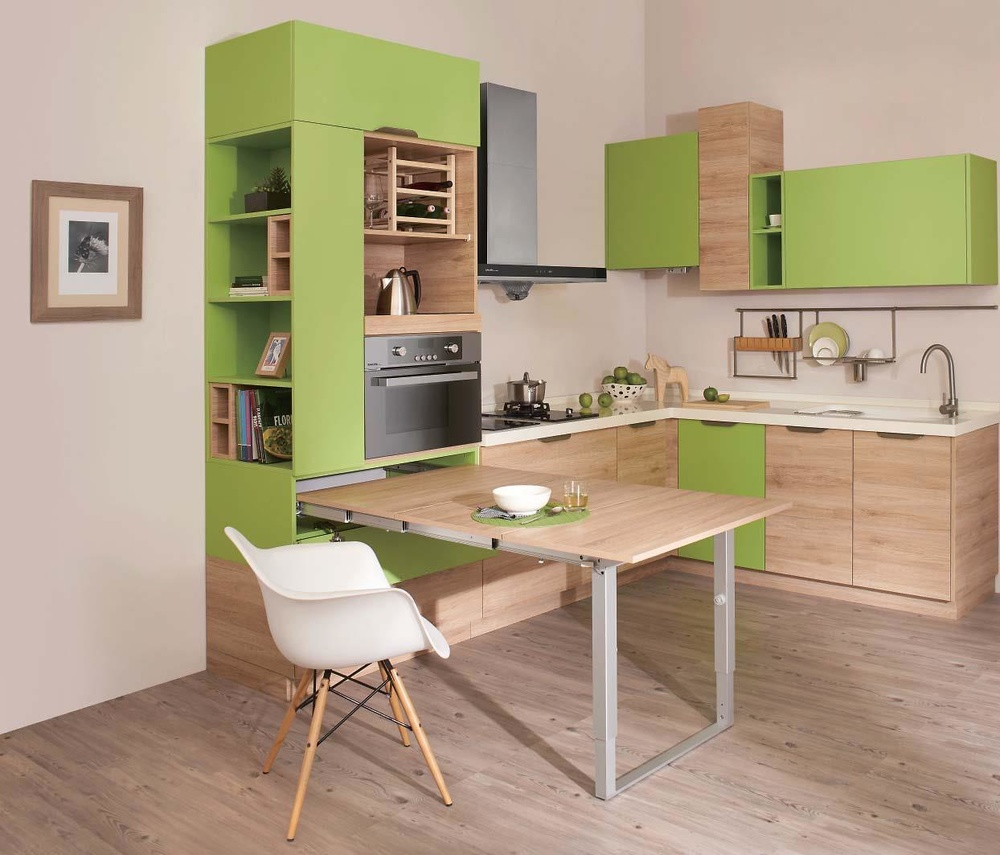 Mesa de cocina de madera excellent with mesa de cocina de madera mesa de cocina en madera de Mesa extraible cocina