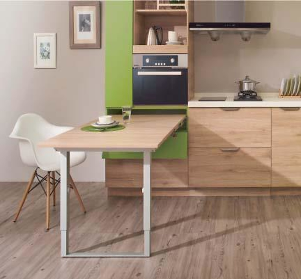 Mesa extraible party cocina y ba o interiorismo y - Mesa extraible cocina ...