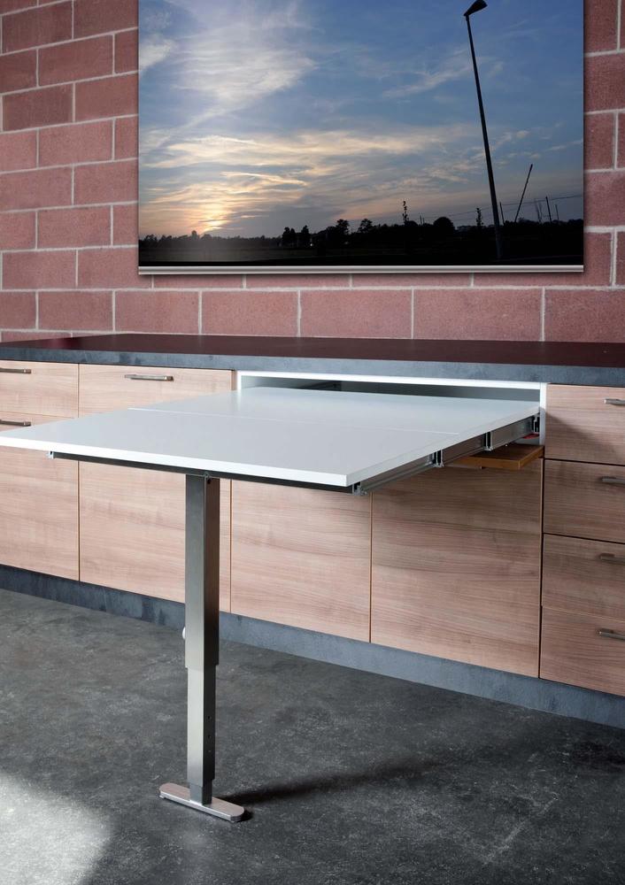 Mesa extraible t able cocina y ba o interiorismo y - Mesa extraible cocina ...