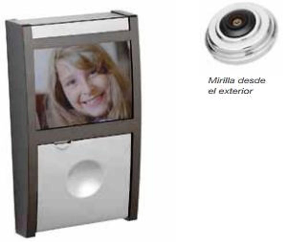 Mirilla digital electronica visora carpinteria - Mirillas digitales para puertas ...