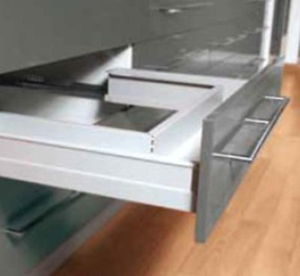 Trasera metalica fregadero cajon eurobox guias y - Guias de cajones ...