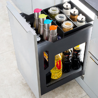CAJON ORGANIZADOR  COCINA BOTTLE ANTRACITA EXTRACCION TOTAL SOFTBRAKE