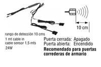 DOBLE INTERRUPTOR LUX SENSOR PRESENCIA (PROXIMIDAD)