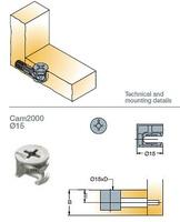 EXCENTRICA S5 D:15 CAM 2000