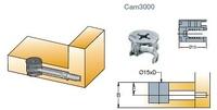 EXCENTRICA S5 D:15 CAM 3000