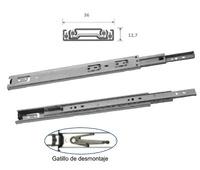 GUIA ERIC EXTR. TOTAL PERFIL 36MM 35KG